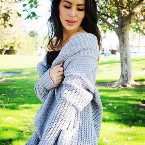 Sweaters - Mia Sweater. Gray. This listing for gray color**